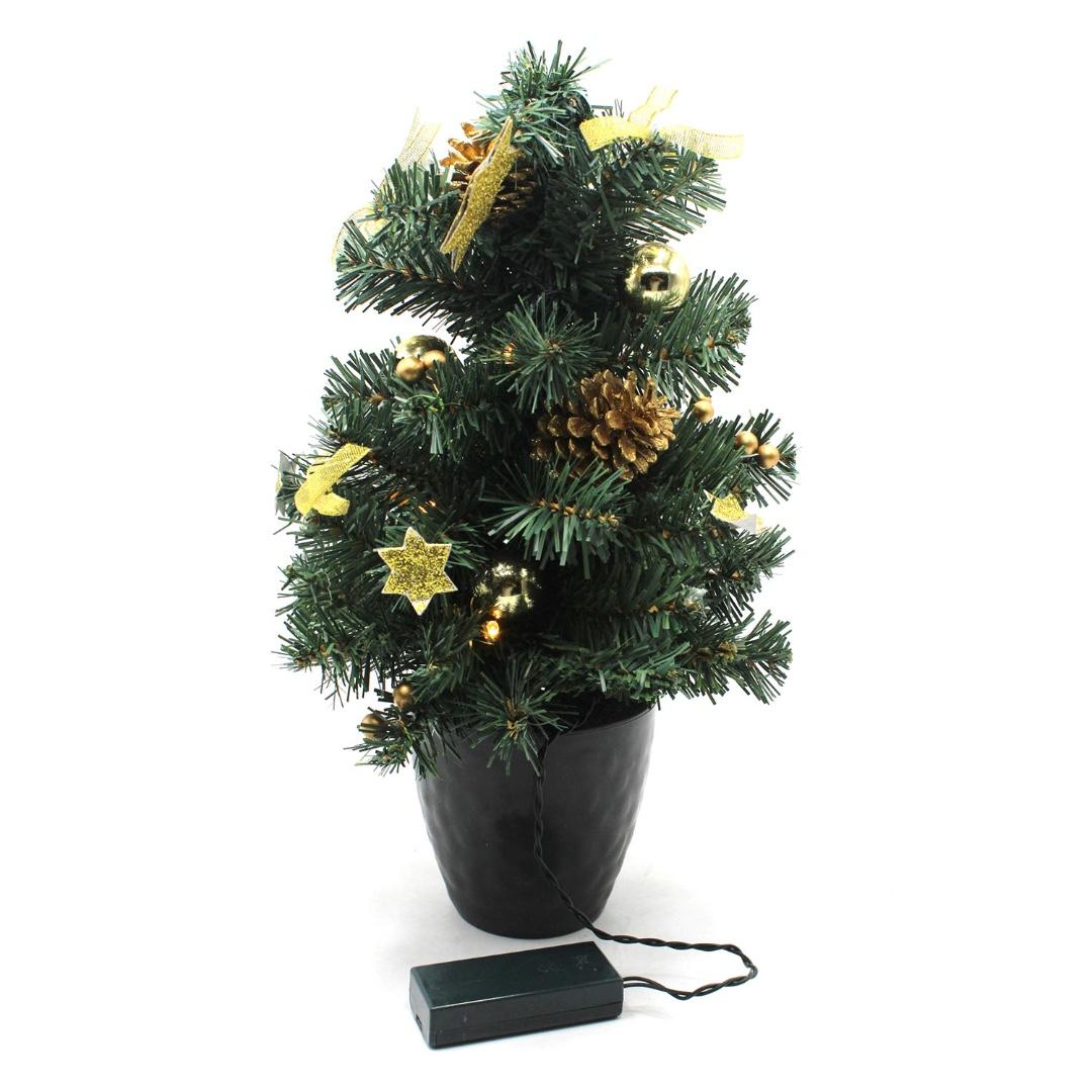 忘憂森林果 聖誕樹 盆栽燈(220500000458)02 | 再生工場