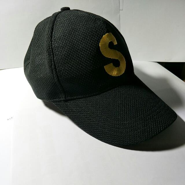 東大黑色校紀念帽  透氣棒球帽  #旺旺一路發