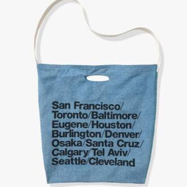 AA CITIES TOTE