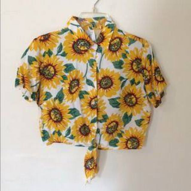 AMERICAN APPAREL SUNFLOWER POLO