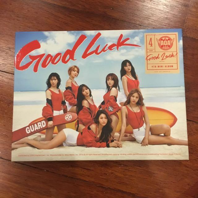 AOA Goodluck Album (Chanmi pc)