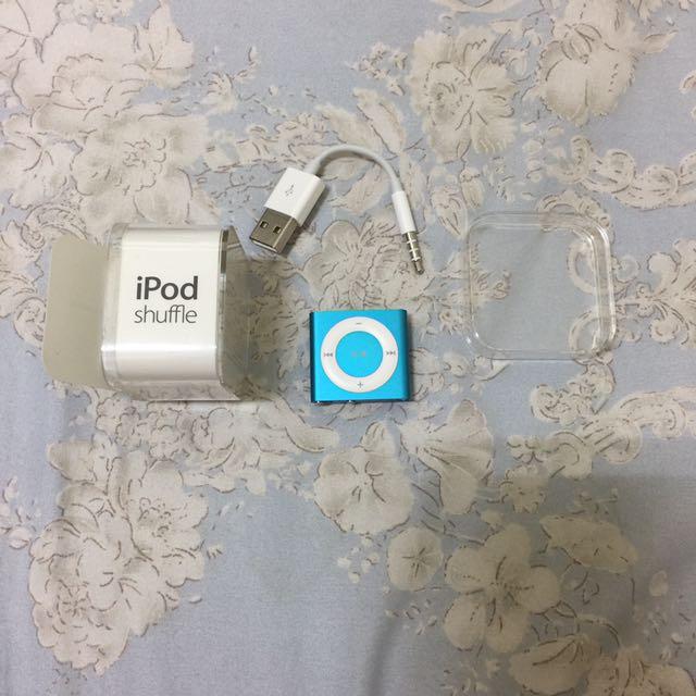 Apple iPod shuffle 藍色