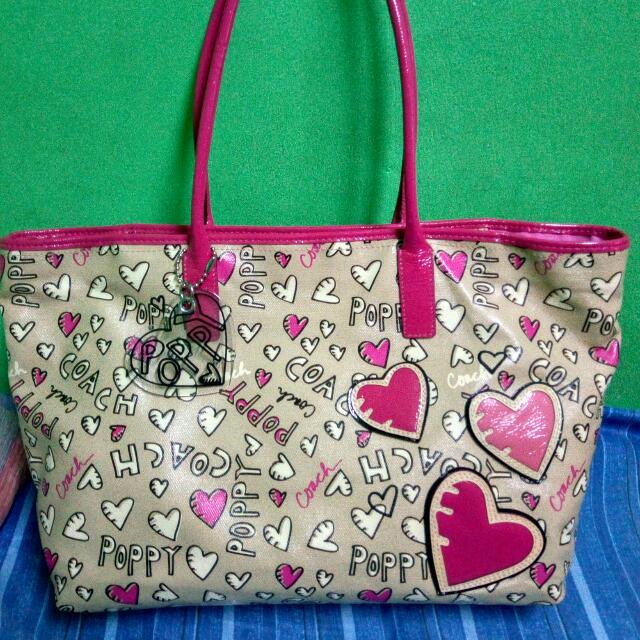 Auhtentic Coach Poppy Bag