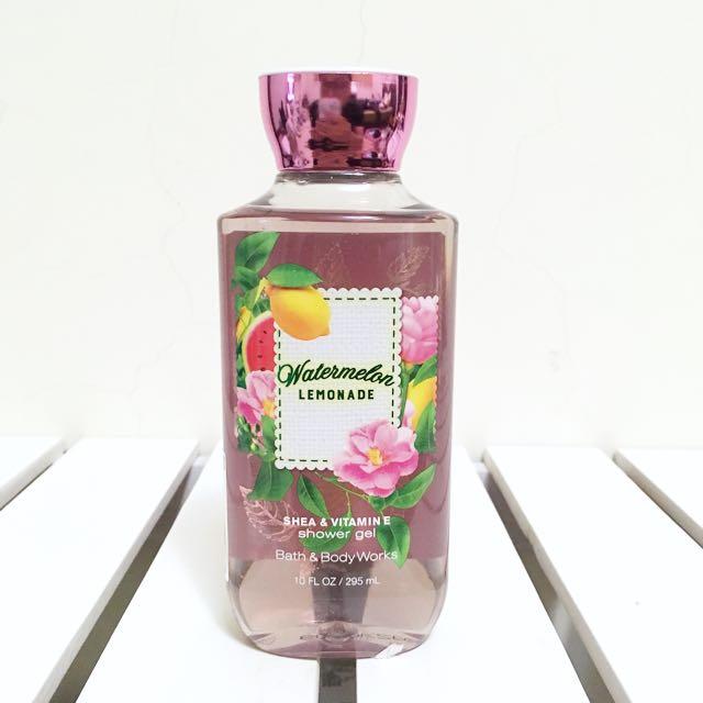 Bath&Body Works 香氛沐浴膠 西瓜檸檬水 295ml