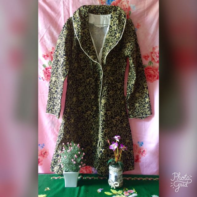 Batik Blazer Hitam