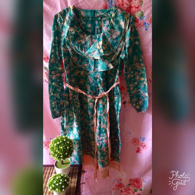 Batik Hijau Cantik Pita