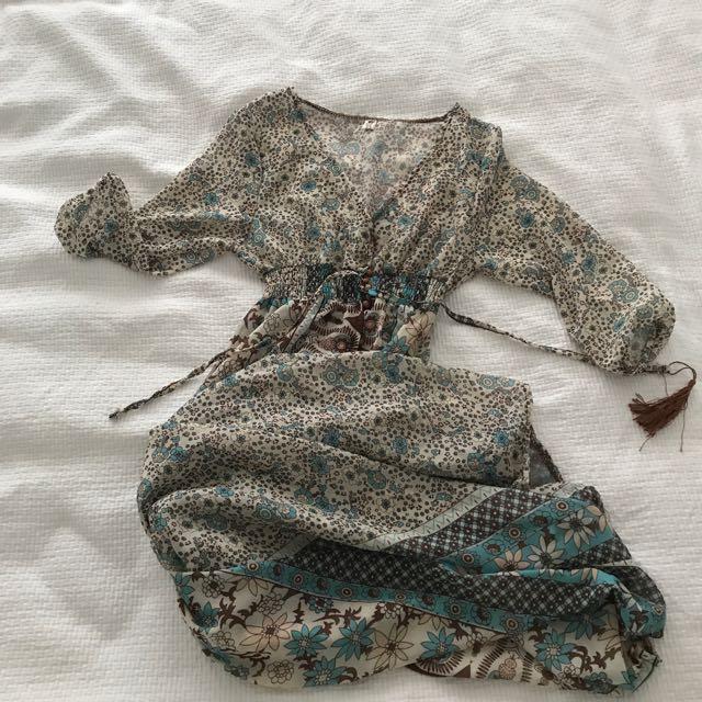 Beautiful Chiffon Beach Dress