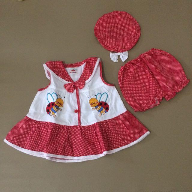 Bee Dress Set