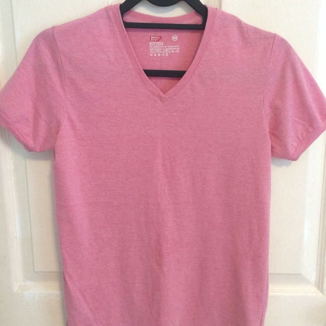 Bench Plain Pink Shirt