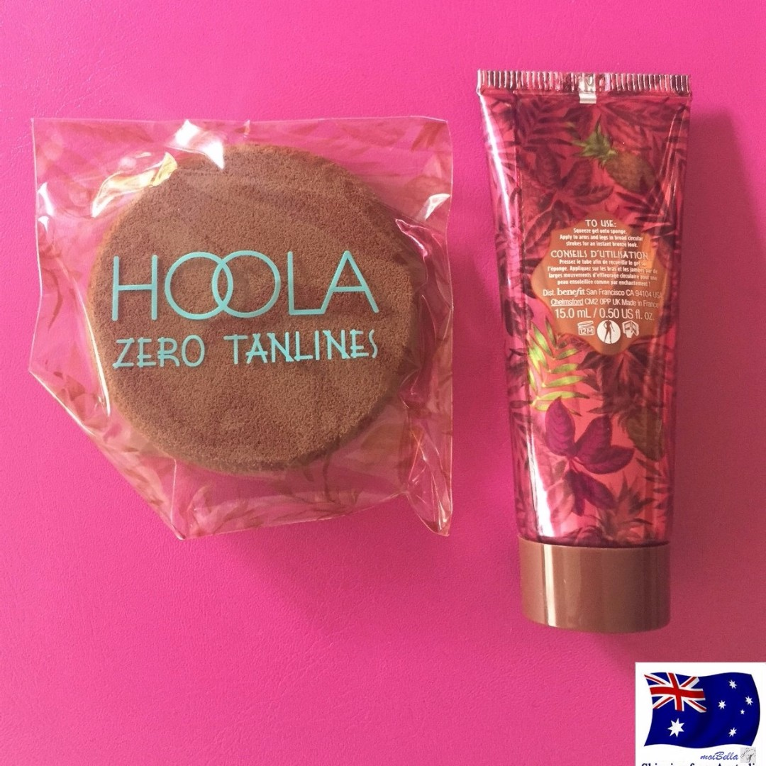 Benefit Hoola Zero Tanlines Body Bronzer 15ml Travel Size the believable all-over body bronzer Made in France 15 mL Product will be shipped as is shown on the picture - no box