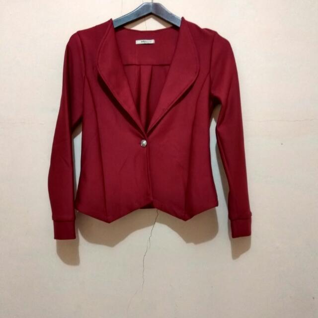 blazer red