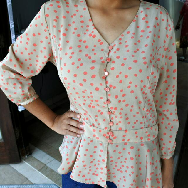 Blouse Polkadot The Executive