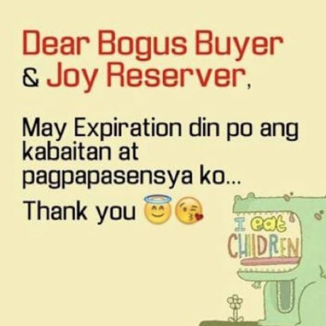bogus buyers