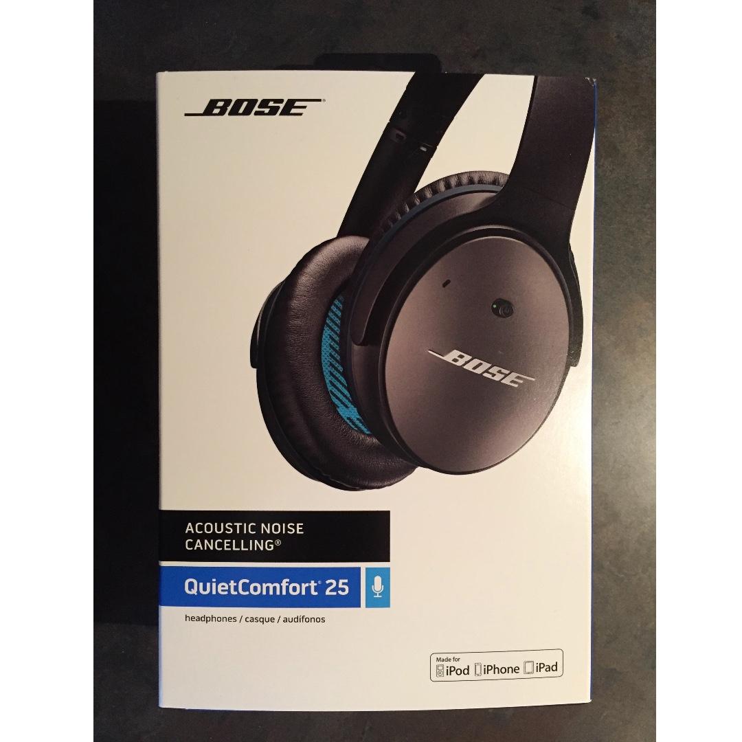 Bose QuietComfort (Q25) Noise Cancelling Headphones