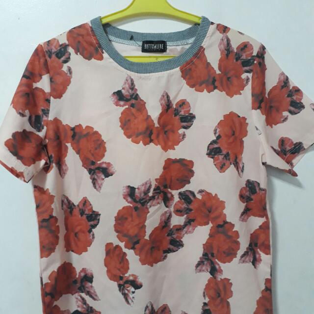 Reduced! Bottomline Clothing Flower Blouse
