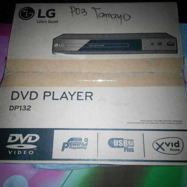 Brand New Lg DVD Player