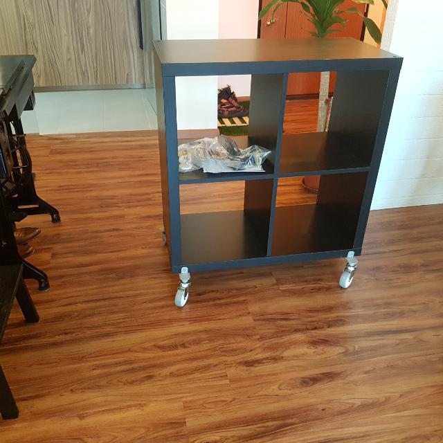 Brand New Unused Ikea Kallax Shelf With Castor Wheels  Ready To Use
