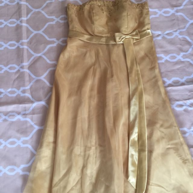 Bridesmaid Gown (3pcs)