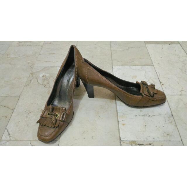 Brown Balenciaga Heels
