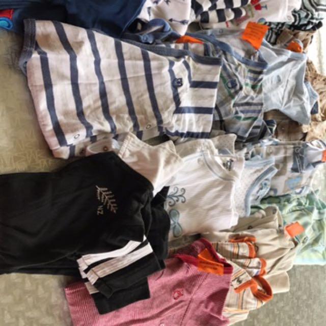 Bulk Boys Baby Clothes