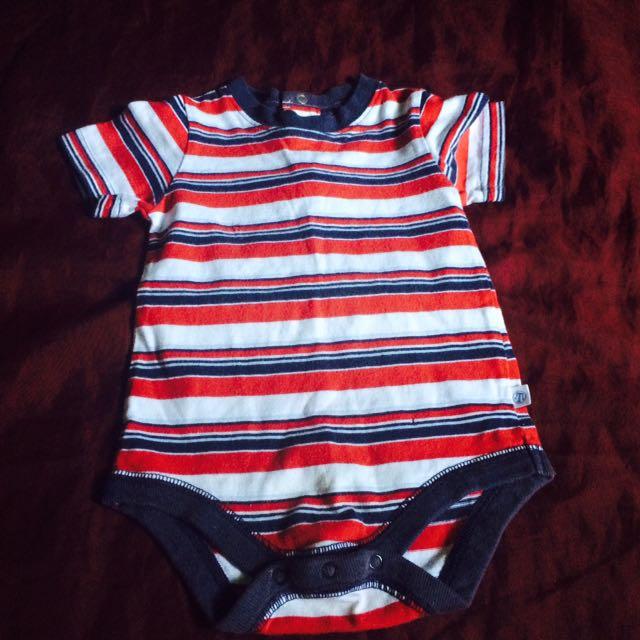 Carter's Stripes Onesie