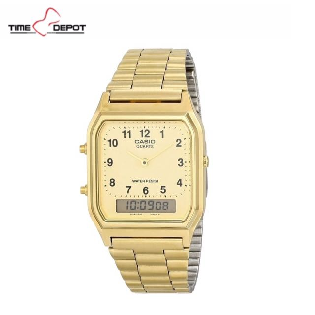 Casio Gold Stainless Steel