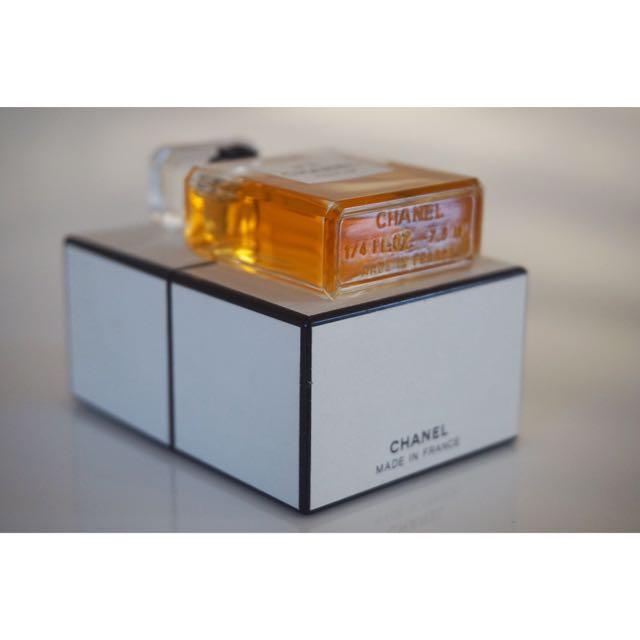 CHANEL No5 Pure Parfum 7.5ml ORIGINAL FORMULA VINTAGE