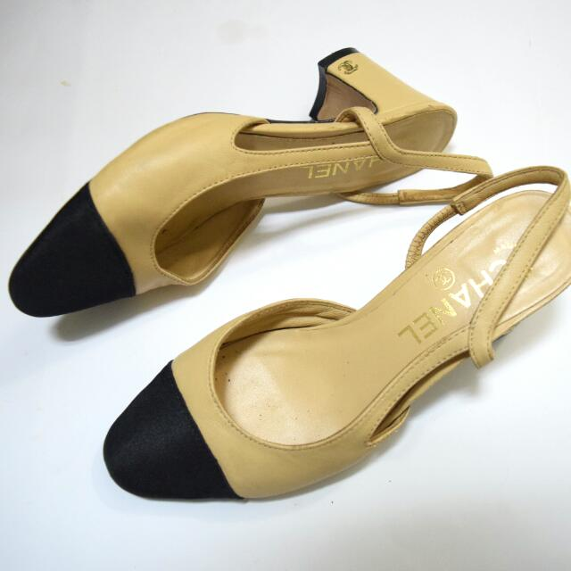CHANEL Slingback Shoes 尺寸36號