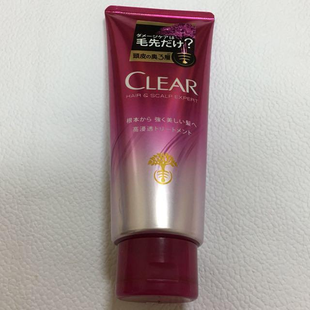 全新👍🏻日本CLEAR 淨 瑩韌養護高浸透護髮乳
