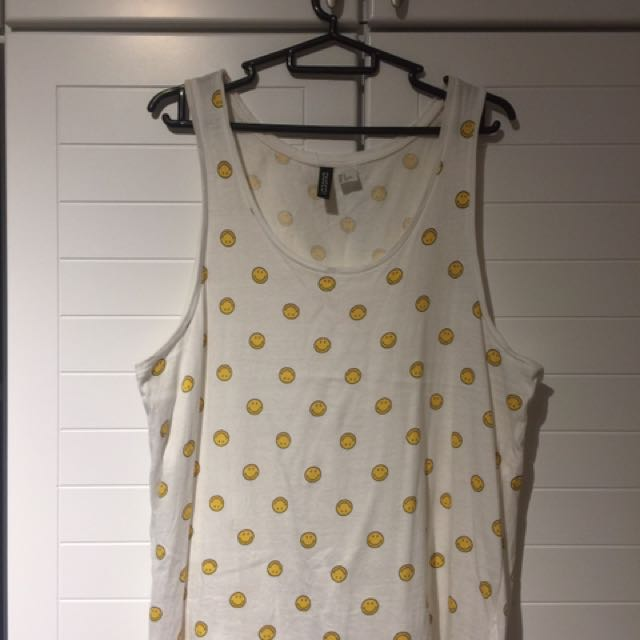 [Clearance] H&M Smiley Tank Top