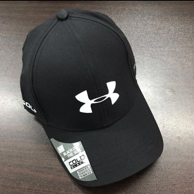 Cold Black Under Armour Cap Snapback Hat 43bd3405775