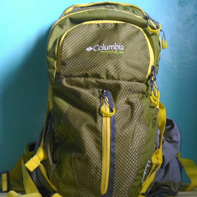 Columbia titanium рюкзак рюкзак ergo back
