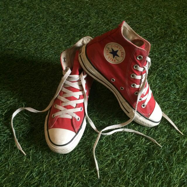 Converse Chuck Taylor High Red White