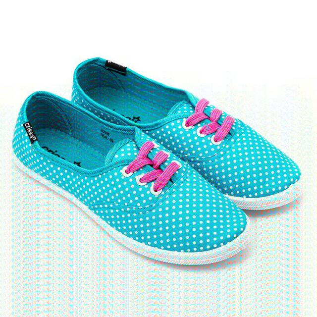 Crissa Josie Teal Shoes