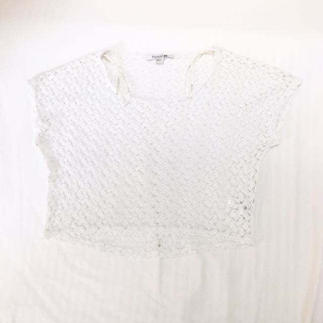 Crochet Cropped Top