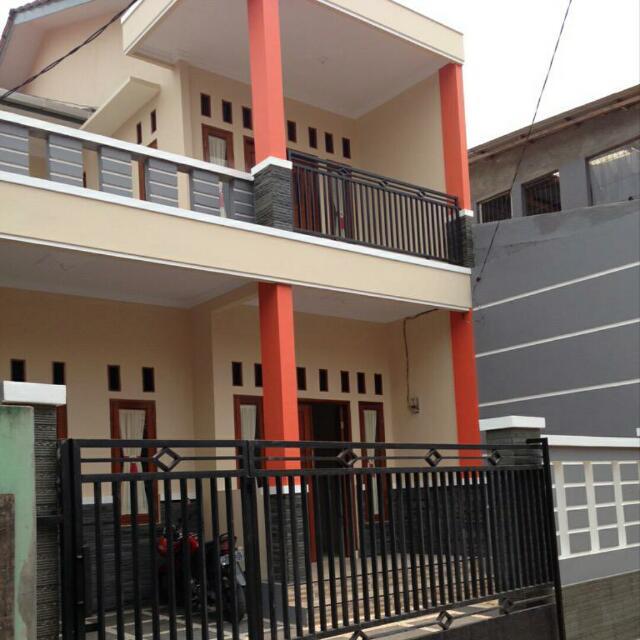 Dikontrakkan Rumah Besar Minimalis 2lantai Siap Huni Pondok Gede