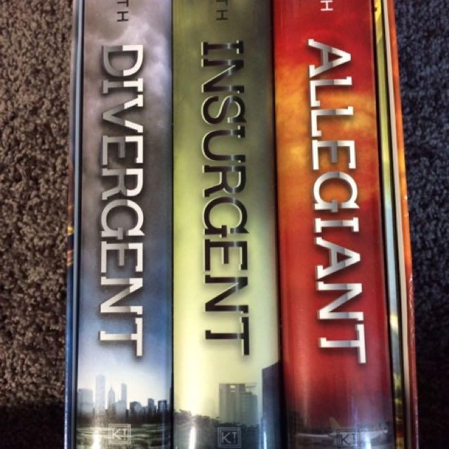 Divergent Boxset