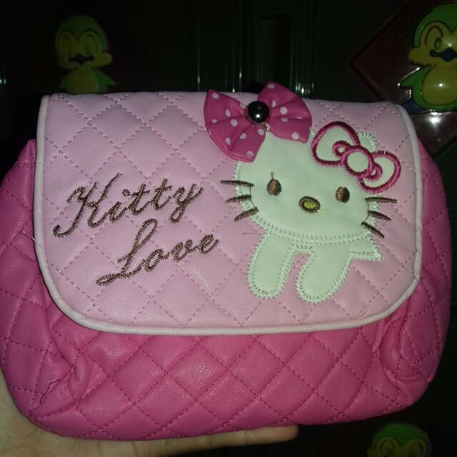 Dompet Hello Kitty Pink