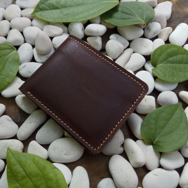 Dompet Kulit Pria/Bifold Wallet Dompet Kulit Asli