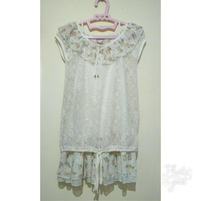 Dress Korea Merk Cammomile (MURAH!!!)