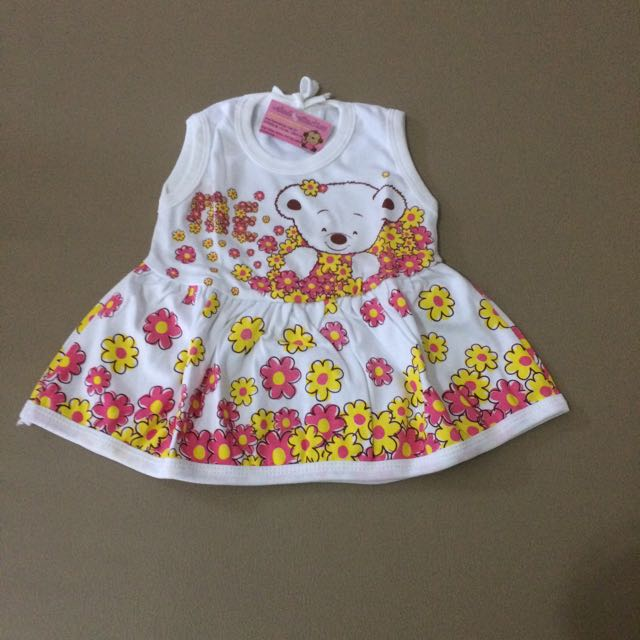 Dress Piteku Flower Bear