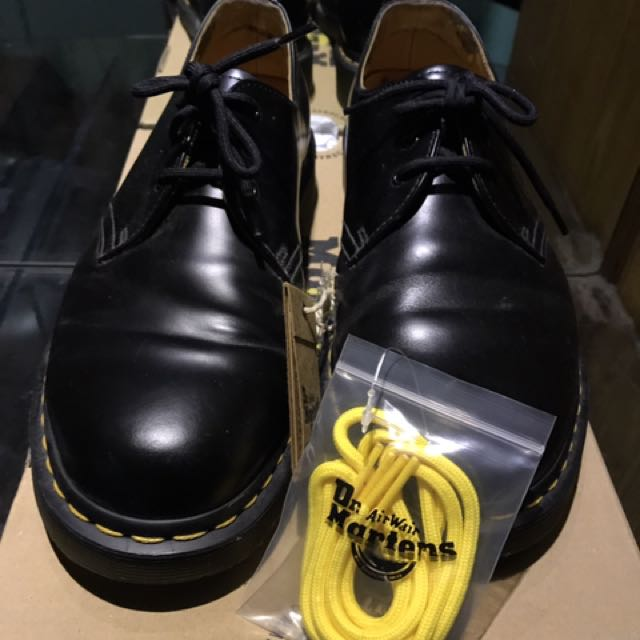 Dr. Martens 1461 Black Noir Size 8 Man