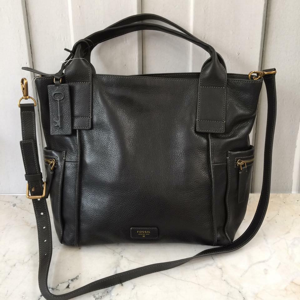 Emerson satchel L black