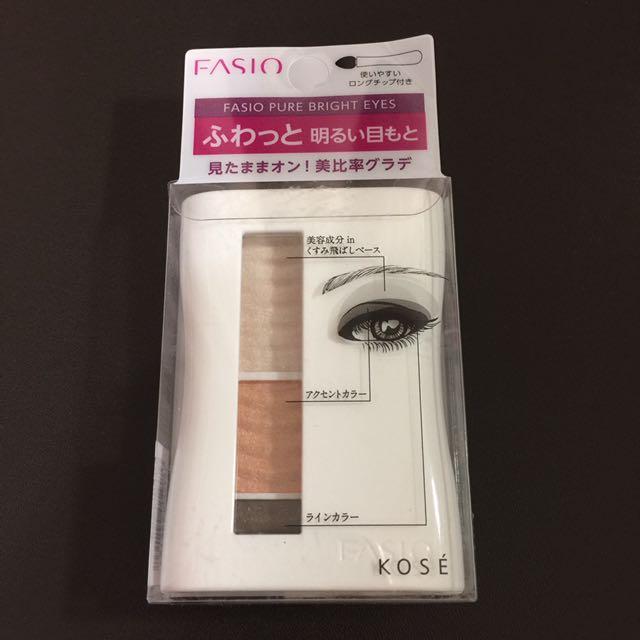 Fasio瞬彩亮眸眼影盒