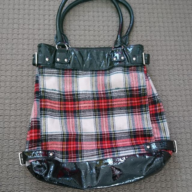 FCUK Tartan Bag