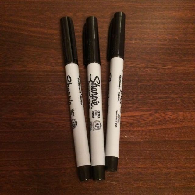 Fine Sharpie Markers