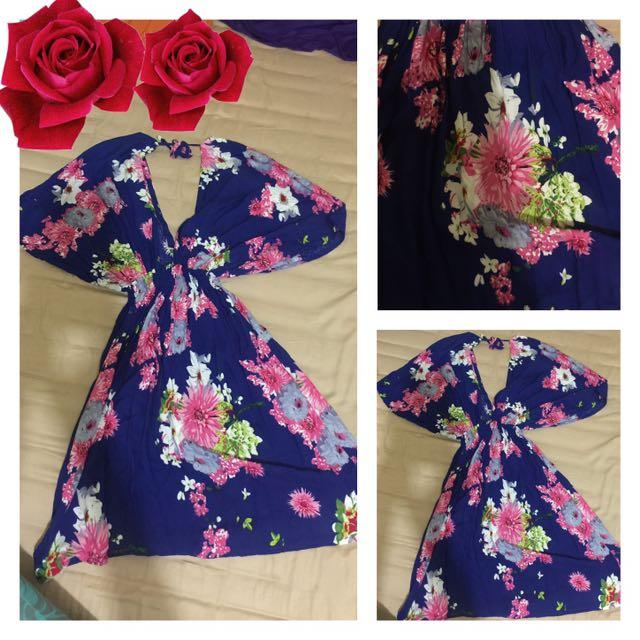 Floral Flowery Summer Dress