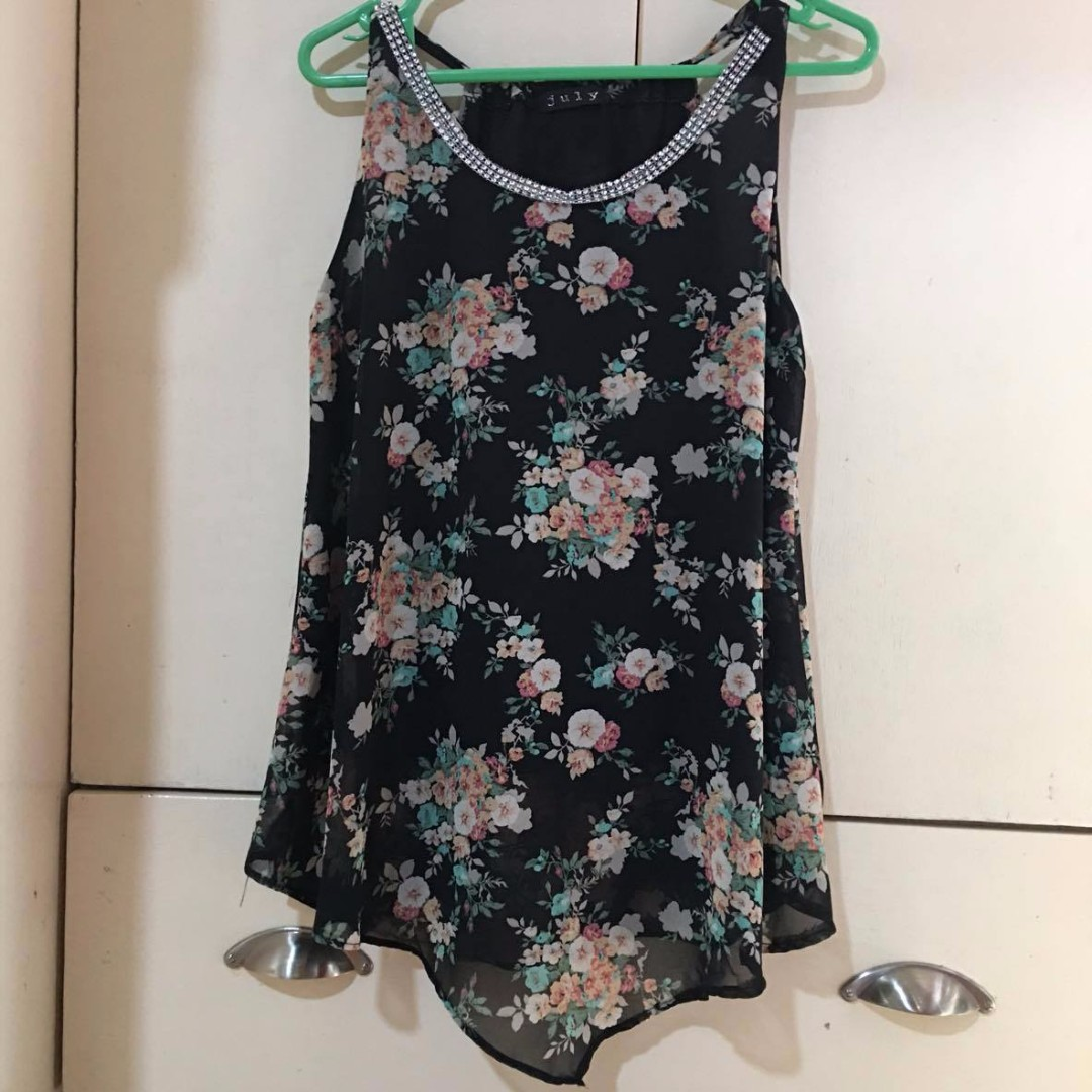 REPRICED Floral Flowy Top