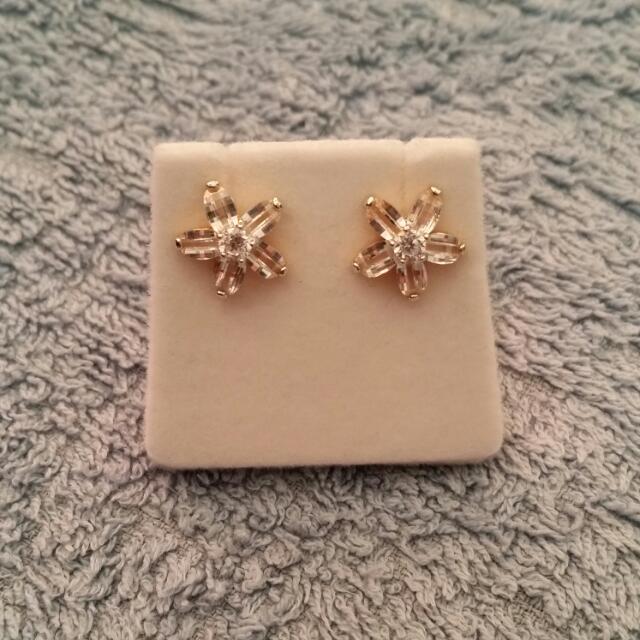 *Reduced* New Flower Earrings