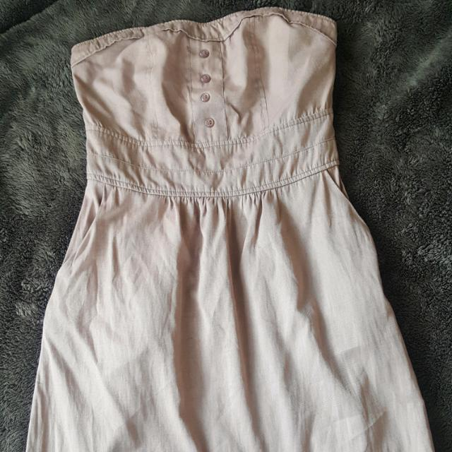 (Repriced) Folded & Hung Tube Dress